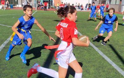 Els ASB Lynx dominen la jornada inaugural de la Copa Catalana Aleví de Futbol Flag